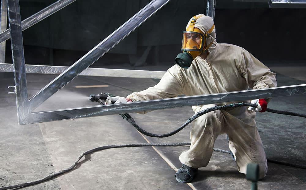Огнезащитная обработка металлоконструкций