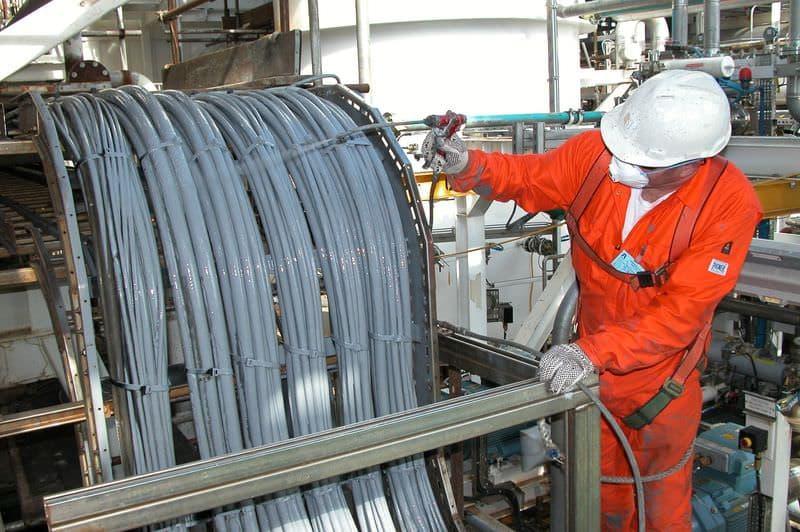 Огнезащитная обработка кабеля