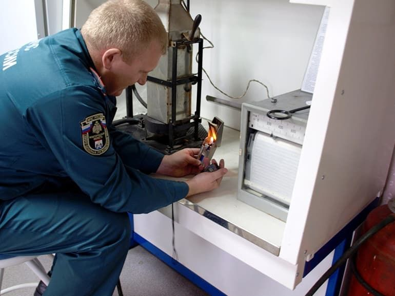 Контроль качества огнезащитной обработки