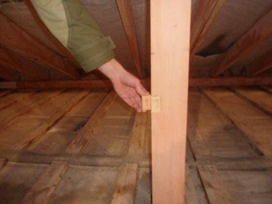 Проверка качества огнезащитной обработки деревянных конструкций