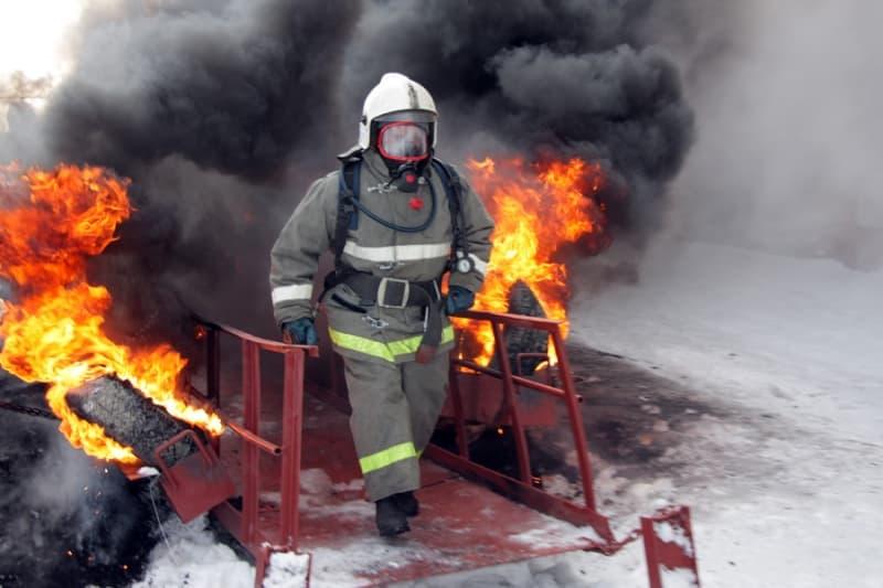 Сайт пожарных