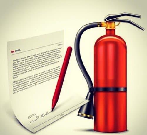 пожарная документация