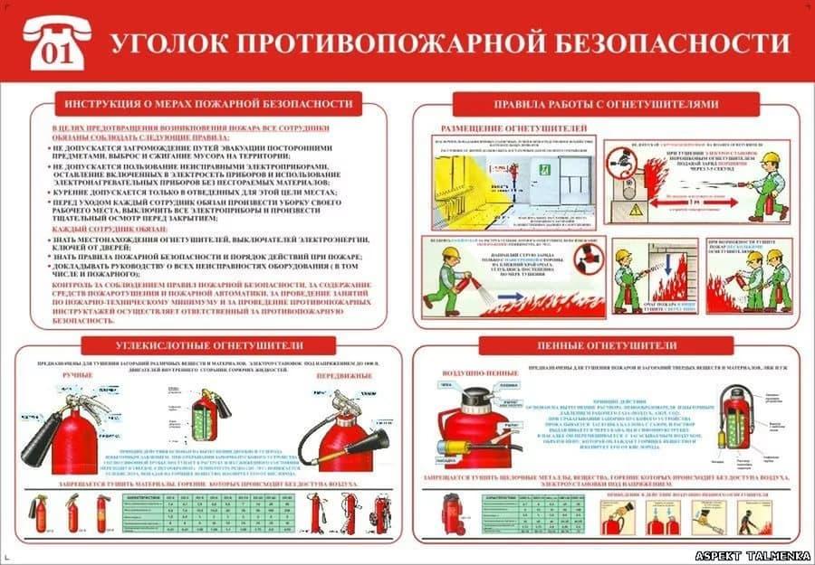 Требования пожарной безопасности 2016