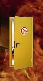Противопожарные двери 5