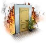 Противопожарные деревянные двери 1