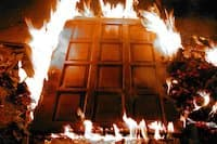 Противопожарные деревянные двери 5