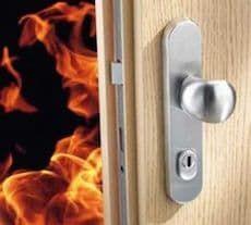 Противопожарные металлические двери 2