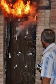 Противопожарные металлические двери 4