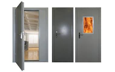 Противопожарные металлические двери 5